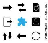 ui ux glyph icons set. next ...