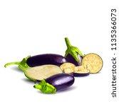 fresh  nutritious  tasty... | Shutterstock .eps vector #1135366073