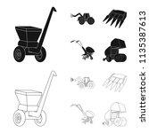 motoblock and other... | Shutterstock .eps vector #1135387613