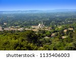 view of saint remy from the... | Shutterstock . vector #1135406003