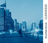 beautiful city of shanghai bund ... | Shutterstock . vector #113545333