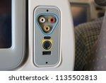 multimedia system in economy... | Shutterstock . vector #1135502813