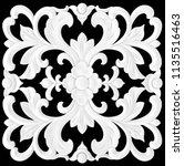 3d illustration stucco... | Shutterstock . vector #1135516463