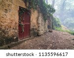 an abandoned old and grunge... | Shutterstock . vector #1135596617