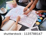 ui designers creating prototype ...