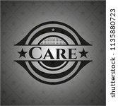 care dark emblem. retro | Shutterstock .eps vector #1135880723
