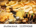 Cheeses - stock photo