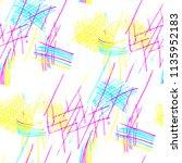 various hatches. seamless... | Shutterstock .eps vector #1135952183