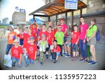 children on vacation children's ... | Shutterstock . vector #1135957223