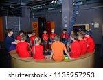 children on vacation children's ... | Shutterstock . vector #1135957253