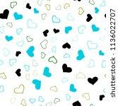 light blue  green vector... | Shutterstock .eps vector #1136022707