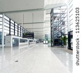 interior of the airport in... | Shutterstock . vector #113625103