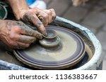 master class on modeling of... | Shutterstock . vector #1136383667
