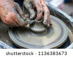 master class on modeling of... | Shutterstock . vector #1136383673