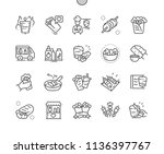 kebabs well crafted pixel... | Shutterstock .eps vector #1136397767