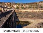 a step well near the nahargarh...   Shutterstock . vector #1136428037