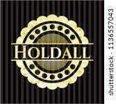 holdall shiny badge | Shutterstock .eps vector #1136557043