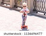 samara  russia   june 21  2018  ... | Shutterstock . vector #1136696477