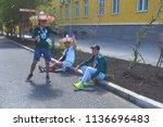 samara  russia   june 21  2018  ... | Shutterstock . vector #1136696483