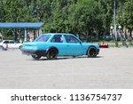 yoshkar ola  russia  june 17 ... | Shutterstock . vector #1136754737