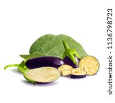 fresh  nutritious  tasty... | Shutterstock .eps vector #1136798723