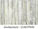 wooden fence (series) - stock photo