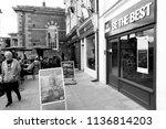 salisbury  wiltshire  england   ... | Shutterstock . vector #1136814203