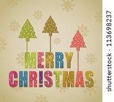Colorful Christmas Greeting...