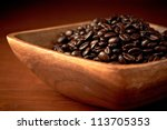 brown coffee  close up | Shutterstock . vector #113705353