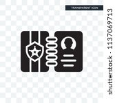 badge vector icon isolated on... | Shutterstock .eps vector #1137069713