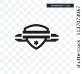 badge vector icon isolated on... | Shutterstock .eps vector #1137073067