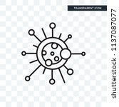 biology vector icon isolated on ...   Shutterstock .eps vector #1137087077
