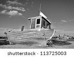 Fishing Boat At The Baltic Sea...