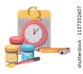 back to school design | Shutterstock .eps vector #1137352607