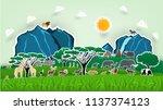 illustration vector design... | Shutterstock .eps vector #1137374123