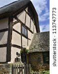 house high street stanton... | Shutterstock . vector #113747773