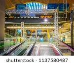 barajas  madrid  spain  07 19... | Shutterstock . vector #1137580487