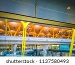 barajas  madrid  spain  07 19... | Shutterstock . vector #1137580493