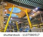 barajas  madrid  spain  07 19... | Shutterstock . vector #1137580517