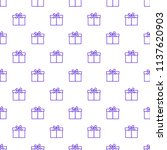 seamless pattern with gifts...   Shutterstock .eps vector #1137620903