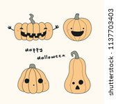 hand drawn vector illustration... | Shutterstock .eps vector #1137703403