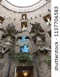 figueres  spain  june 28  ... | Shutterstock . vector #1137706583