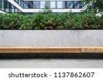 modern details of architecture. ... | Shutterstock . vector #1137862607