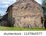 farm architecture in village... | Shutterstock . vector #1137865577