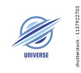 universe   concept business...   Shutterstock .eps vector #1137922703