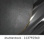 the template for the... | Shutterstock . vector #113792563