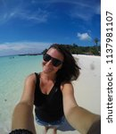 travel vacation holiday... | Shutterstock . vector #1137981107