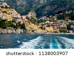 a view of the colorful cliff... | Shutterstock . vector #1138003907