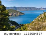 beautiful view of the coast of... | Shutterstock . vector #1138004537