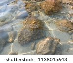stones on the beach of the... | Shutterstock . vector #1138015643